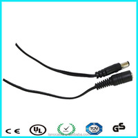 Hq low price camera cable dc 2.5*5.5mm with fuse 2a car cigar charger