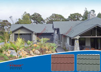 High quality zinc coated steel roof tile /spanish clay roof tile/villa roofing tile