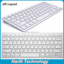 UK Layout Wireless Bluetooth Keyboar, Low Price Computer Laptop Bluetooth Keyboard