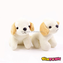 stuffed standing dog animal plush white floppy dog plush toys