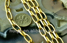 12ft Matt Gold Plated Aluminum Link Chains 11x5.5mm
