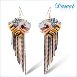 European And American Fashion Resin Earrings Men Earrings 2015