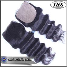 Fashion Modeling Natural Wave 100% Virgin Peruvian Hair 4x4 Silk Base Closures Alibaba Express