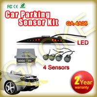 4 Sensors Kit Car Parking Sensors Ultrasonic Sensor Car Parking Radar Detector