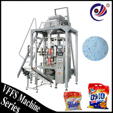 automatic vertical linear weighing packing machine for washing powder / powder detergent