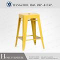 Apilable en el mejor vendedor de hierro barato, silla de metal hc-f004