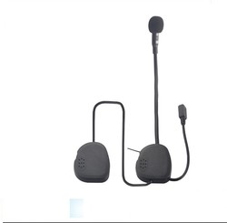 Dellking tianyu professional manufacturer waterproof bluetooth motorcycle helmet headset with fm radio