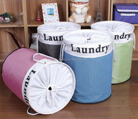 With cover laundry basket