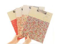 Popular fancy hardboard paper clipboard a4 wholesale for office