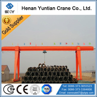 truss type 10t single girder shipyard gantry crane