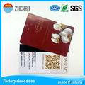 Com o número gravado/número digital smart card pvc 125 khz