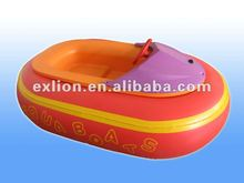2012 Latest usage amusement water games rides bumper boat with various color