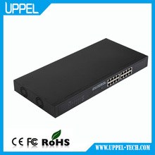 Oem Supplier Network Switch10/100 16 Ports Industrial Poe Switch 802.3af Made In China