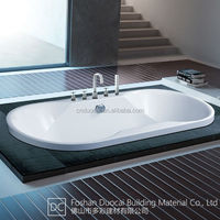 Acrylic Modern Short Dropin Bathtub (CM-G618)