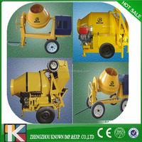 auto concrete mixer with high productivity on sale