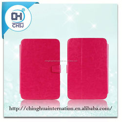 Hot Selling PU Leather Fancy Case for iPad 2/Mini/5/Air with Stand for Video Watching