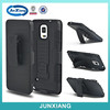 kickstand silicon and PC hybrid armor case for samsung galaxy note 4