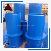 ISO2531 ductile iron pipe fittings flange spigot