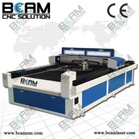 BCJ2513 2015 Series Metal&non-metal laser co2 cutting printed circuit board with highest speed and precision