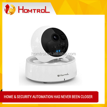 Baby & Pets Monitor Wireless WIFI Pan/Tilt IP Camera for Home Security Video Recording Easy Remote Access via PC & Smartphone