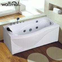 luxury vertical corner acrylic massage bathtub, built in bathtub sizes