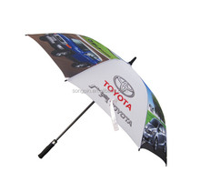 China style 68-inch oversize windproof golf umbrella for sale, good quality umbrella with EVA handle