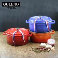 QULENO cast iron enameled cast iron pots cast iron pot