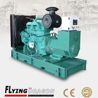 200kw diesel industrial generator price with CCEC cummins engine 250kva power generator for sale