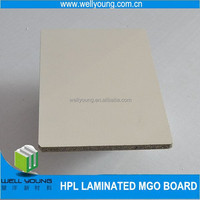 Hot sale! Best Pirce Two Sides white HPL Faced Block board /hpl faced plywood /hpl fireproof plywood