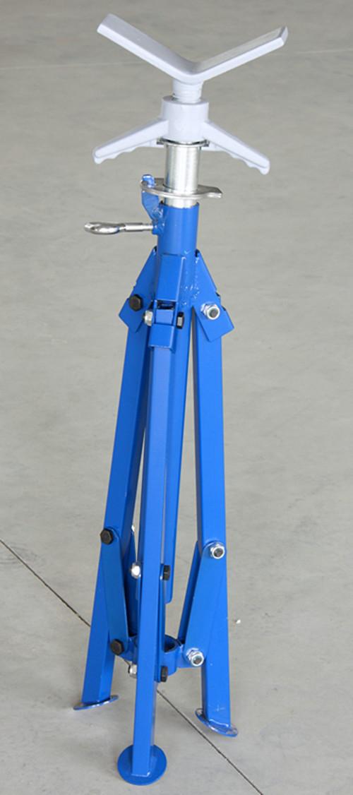 1108 plegable soporte de tubo con el v cabeza