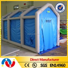 Hot Sale and Top Quality 0.55-0.9mm PVC inflatable tent,princess castle play tent,used wedding and party tents