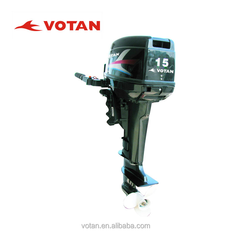Chinese Outboard Motors : Chinese cheap hp stroke outboard engine for boats