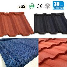 steel metal roofing tiles artificial synthetic thatch tiki bali hut stone coted steel roofing