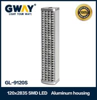 120pcs Super Bright LED rechargeable 600lm 12w emergency light Solar power lamp