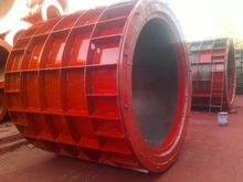 Quick output Suspension type Concrete Pipe Machine exported to Kenya