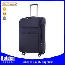 alibaba website trolley suitcase set four universal wheels traveling bag soft nylon luggage bag and case