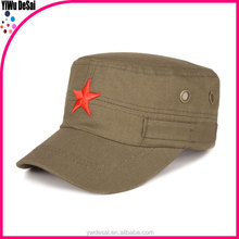 Retro cotoon With Five-pointed Star Men Military Hats