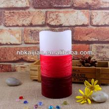 Battery resin scented led candle