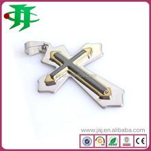USA most popular stainless steel cross pendant