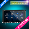 "XTRONS TD691GT 6.95"" 2 din car china HD Digital Touch Screen 1080P Video Car DVD Player With Mirrorlink"