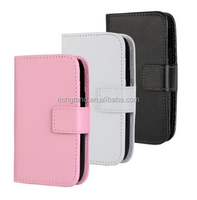 Color PU leather wallet stand flip Cover Case for Samsung Galaxy GT-S6310