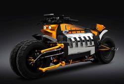 X-RACER offroad four wheel gas motorcycle, big pocket bike