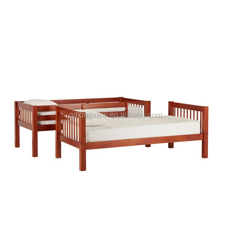 Wooden Separable Kids Bunk Bed Prices In Pine
