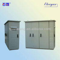 """Aluminum enclosure for electronics/SKW-003/door locking display metal cabinet with 19"""" rack and light"""