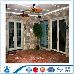 Thermal Break Aluminim Casement Doors And Windows With Grill