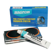 Tire tube patch and glue set