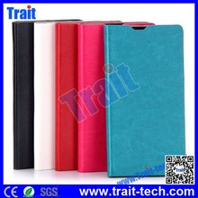 2015 New design Crystal Texture Card Slot Flip Stand PC PU Leather Case for Sony Xperia Z4 Z3X five color options with low price