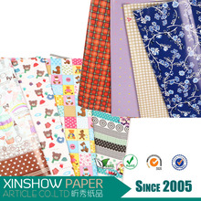 wholesale goods from China hot sale floral wrapping paper