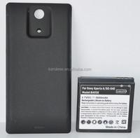 Rechargeable External Battery BA950 5000mAh High Quality Batterie Manufacturer For Sony Ericsson X peria ZR M36h C5503 C5502