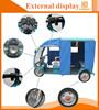 range per charge tuk tuk double head light auto rickshaw tricycle
